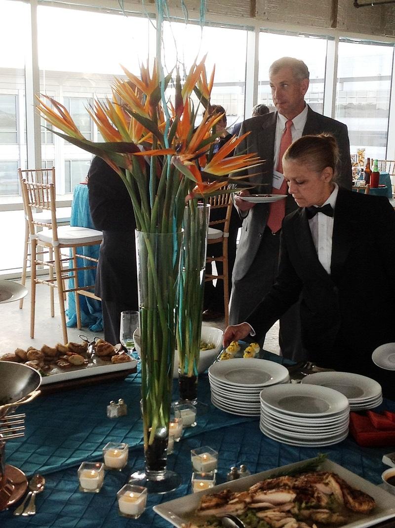 corporate ceremony reception