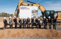 Ground Breaking event Clarksburg