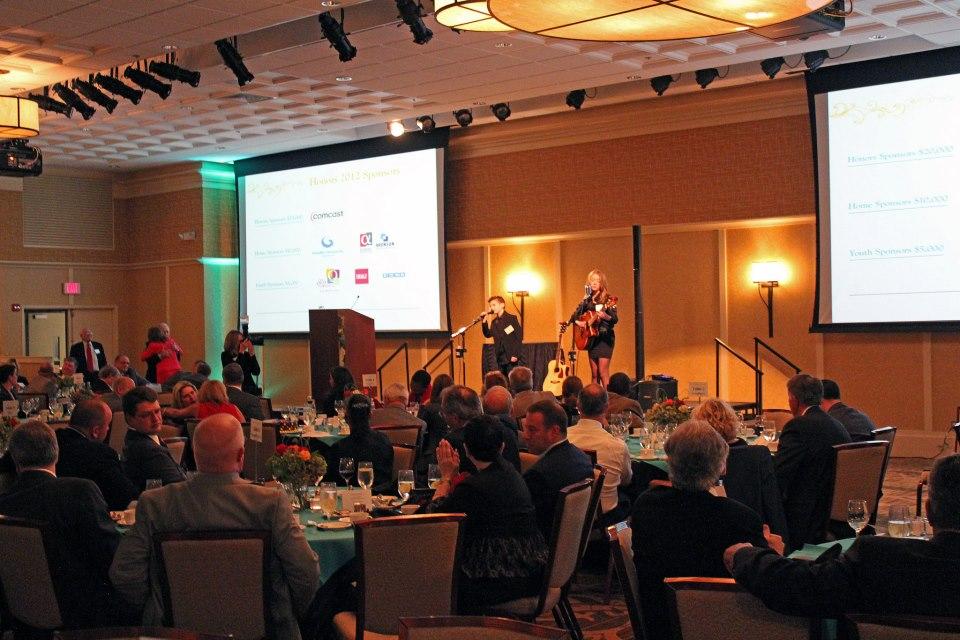 company event reception