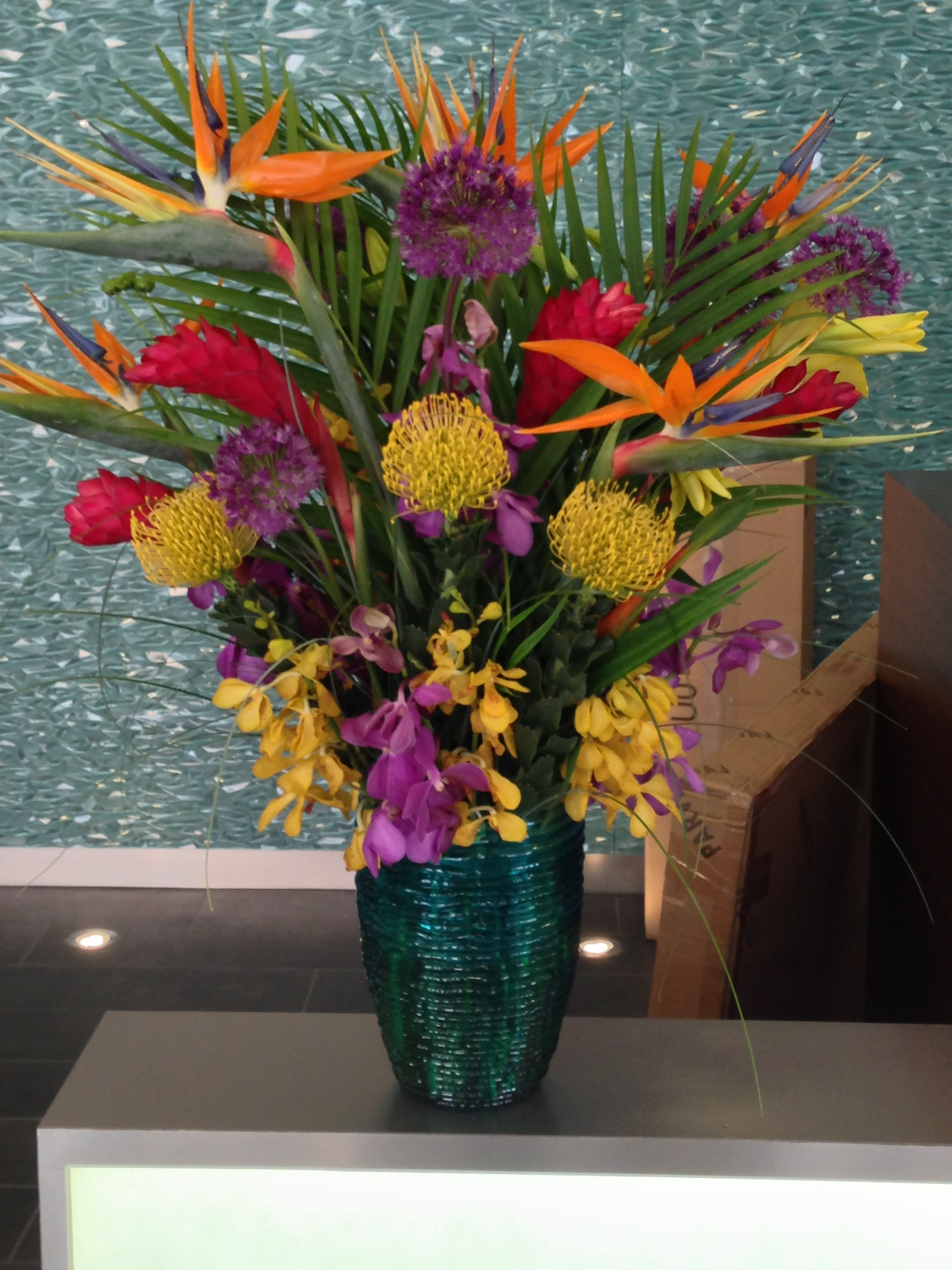corporate event flowers