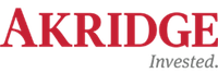 akridge invested logo