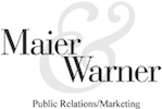 Maier & Warner Public Relations Marketing Logo