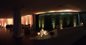 Black Tie Birthday Celebration Reception Area
