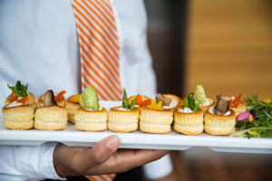 bar mitzvah appetizers for reception