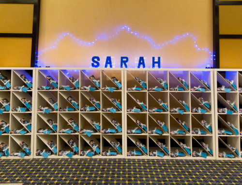 Blue Bat Mitzvah at the Hilton