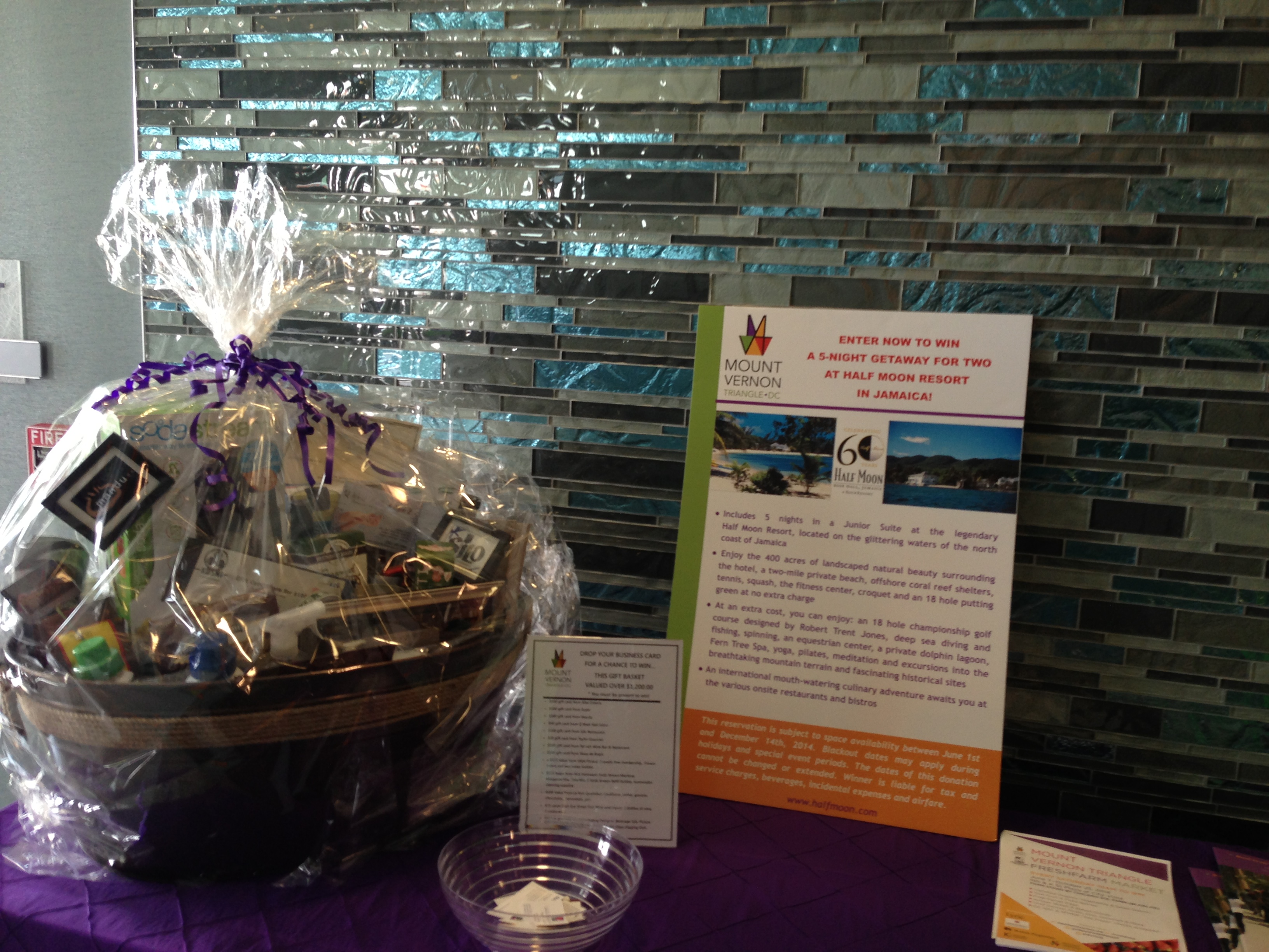 mount vernon corporate event gift basket