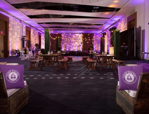 Summer Camp Theme Bat Mitzvah -Hyatt Regency, Tysons Corner, VA