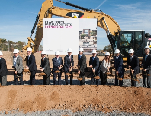 Clarksburg Premium Outlets Groundbreaking